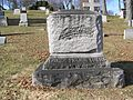 George Ticknor Curtis Tombstone February 2012.JPG