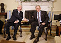 George W. Bush and Ivan Gasparovic 2008.jpg