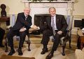 George W. Bush and Ivan Gasparovic 2008.jpg