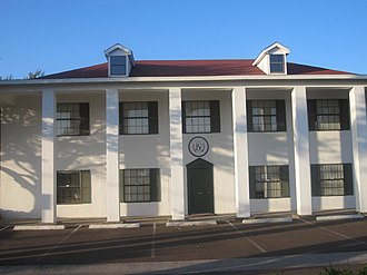 Washington's Birthday Celebration - The Washington Birthday Celebration Building on West Hillside in Laredo, the seat of Webb County in south Texas, is loosely designed on the architecture of Mount Vernon.