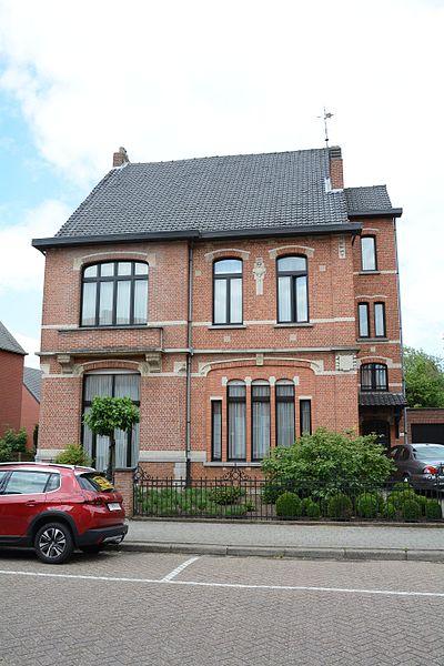 Gerenoveerd burgerhuis, Kerkstraat 14, Lille