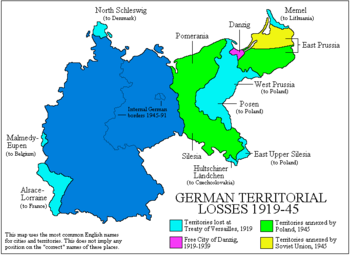 tyskland 1945 kart De tidligere tyske østområder – Wikipedia tyskland 1945 kart