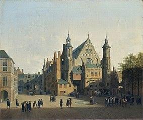 View of the Binnenhof, The Hague