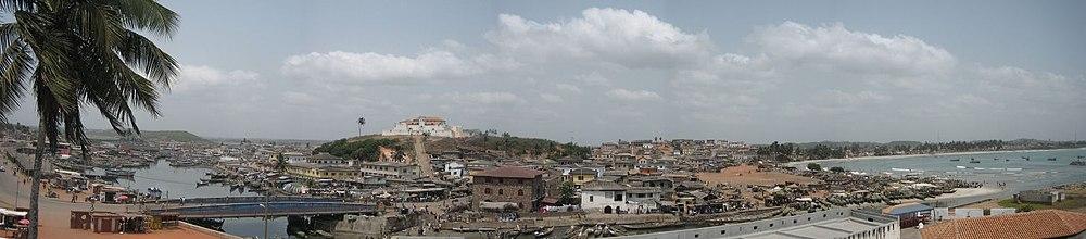 Ghana Elmina City Panorama.jpg