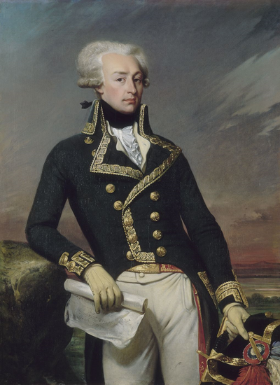 Marquis de Lafayette, French general and politician.
