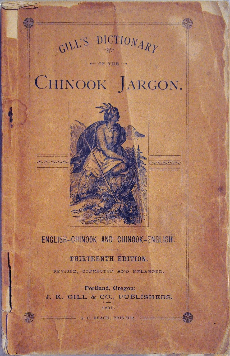 Gill's Dictionary of the Chinook Jargon 01B