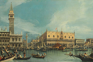 The Molo, Venice, from the Bacino di San Marco
