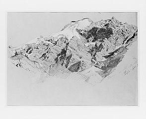Glacier on the Ortler