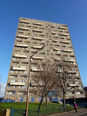 Woodside, Glasgow - Image: Glasgow. Woodside. Torridon Court