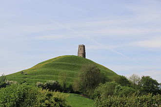Glastonbury Tor - Terraces on the Tor