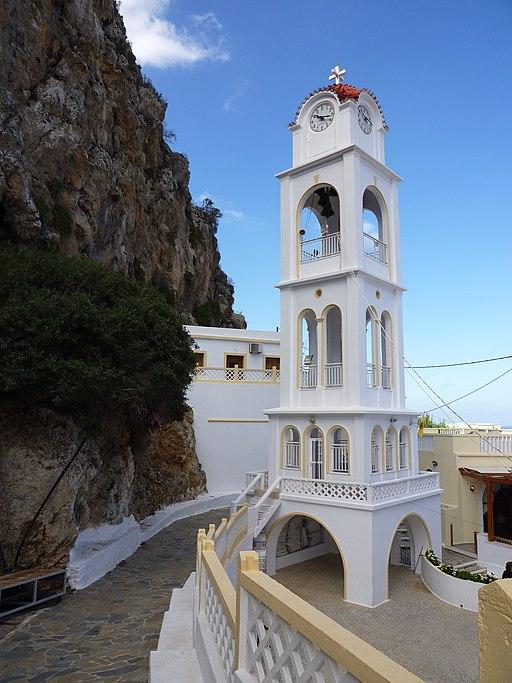 Glockenturm in Mesochori