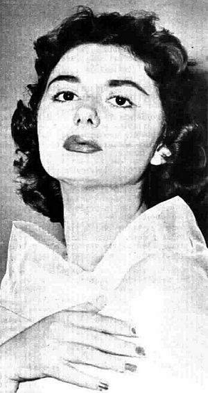 Gloria Christian - Christian in Radiocorriere magazine, 1958