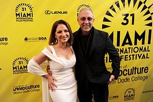 Emilio Estefan - Image: Gloria Estefan and Emilio Estefan at 2014 MIFF