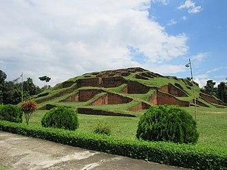 Behula - Ruins claimed to be Lakshmindara-Behula's bridal chamber, near Bogra in Bangladesh