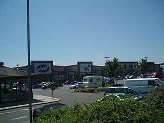 Goldstone Ground - The current Goldstone Retail Park, built on the former site of the Goldstone Grround.