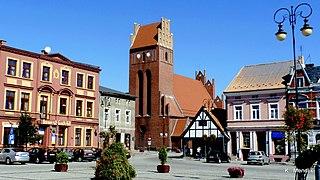 Golub-Dobrzyń Place in Kuyavian-Pomeranian Voivodeship, Poland