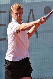 Kazakhstani tennis player