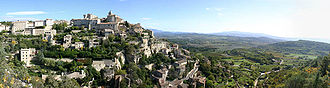 Architecture of Provence - Gordes, in the Vaucluse, is a classic example of a Provençal hilltop village.