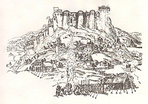 Gori Fortress - Image: Gori fortress, c 1642