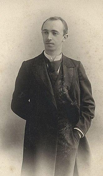 Alexander Alexeyevich Gorsky - Alexander Gorsky in 1905