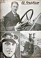 Goux (automovilismo), Ross Smith (aviación) y José Spalla (boxeo). - El Gráfico 140.jpg