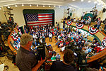 Governor of Florida Jeb Bush, Announcement Tour and Town Hall, Adams Opera House, Derry, New Hampshire by Michael Vadon 32.jpg