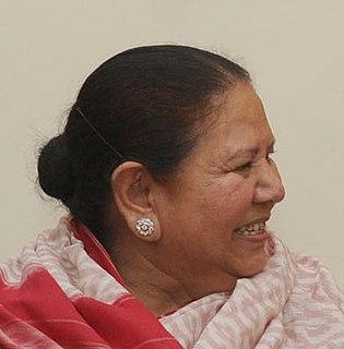 Urmila Singh Governor of the Indian state of Himachal Pradesh