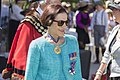 Governor of New South Wales Professor Marie Bashir departing the Centenary of the Kangaroo March launch.jpg