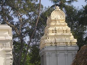 Samadhi of Bodhendra Saraswathi - Main entrance Gopuram