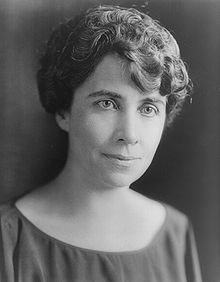 Grace Coolidge, en 1924.