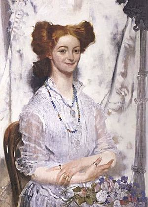 Grace Gifford - Young Ireland:Grace Gifford (c.1907) by William Orpen