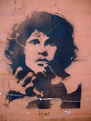 Graffiti Rosario - Jim Morrison