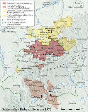 Grafschaften Hohenzollern 1370.png
