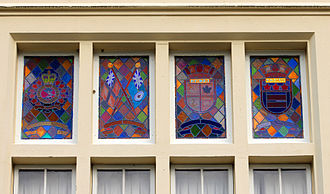 Royal Roads University - Royal Roads Military College stained-glass window