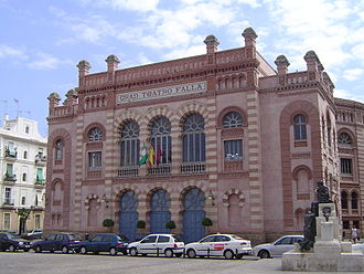 Moorish Revival architecture - Gran Teatro Falla, Cádiz, Spain