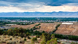 English: Grand Junction, Colorado skyline