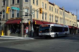 Galt, Ontario - GrandRiverTransit Bus, Galt (Cambridge)