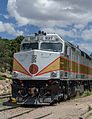 Grand Canyon Railway EMD F40PH 237, Grand Canyon Village 20110810 2.jpg