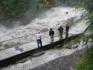 Global storm activity of 2006 - Stillaguamish River flood