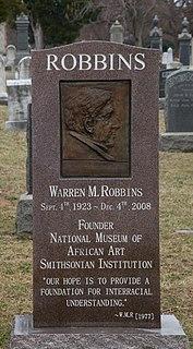 Warren M. Robbins American art collector