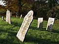 Gravestones, St Giles on the Heath church - geograph.org.uk - 609311.jpg