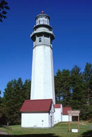 National Register of Historic Places listings in Grays Harbor County, Washington - Image: Grays Harbor Westport Light Nps Photo 2000