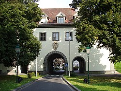 Graz Gate, part of former town fortifications