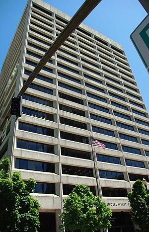 Edith Green – Wendell Wyatt Federal Building - Original look of the building