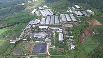 Greenfields (dairy company) - Aerial of Greenfields Factory