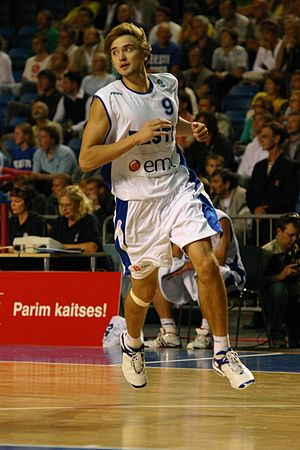 BC Kalev - Gregor Arbet has been named to the All-KML Team a record 5 times, 4 while playing for Kalev/Cramo.
