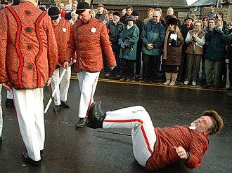 Long Sword dance - Image: Grenoside Sword Dance