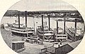Grey Eagle, Frank Steele, Jeanette Roberts and Time and Tide (Steamboats) at dock in St. Paul.jpg