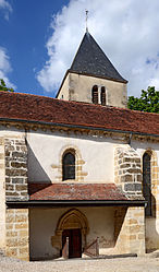 The church in Grignon
