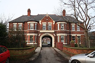Diana, Princess of Wales Hospital - The old hospital in Scartho Road